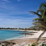 In Mexiko am Strand liegen...