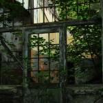 Geheimnisvolle Orte: Das Hotel zu Waldburg, Einblick durch das Fenster