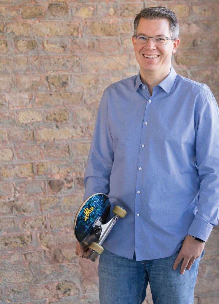 Frank Thelen Investor Skateboarder Geek