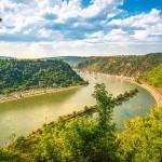Eine Roadtrip Strecke an der Rhine Romantic Route