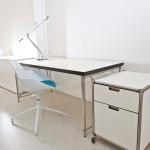 Hochwertige Möbel: einfach - aber hochwertig - ist auch dieser Schreibtisch