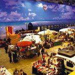 Die Messe in Bonn: Das BaseCamp von innen