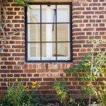 Das Fenster zum Hof nach der Altbausanierung