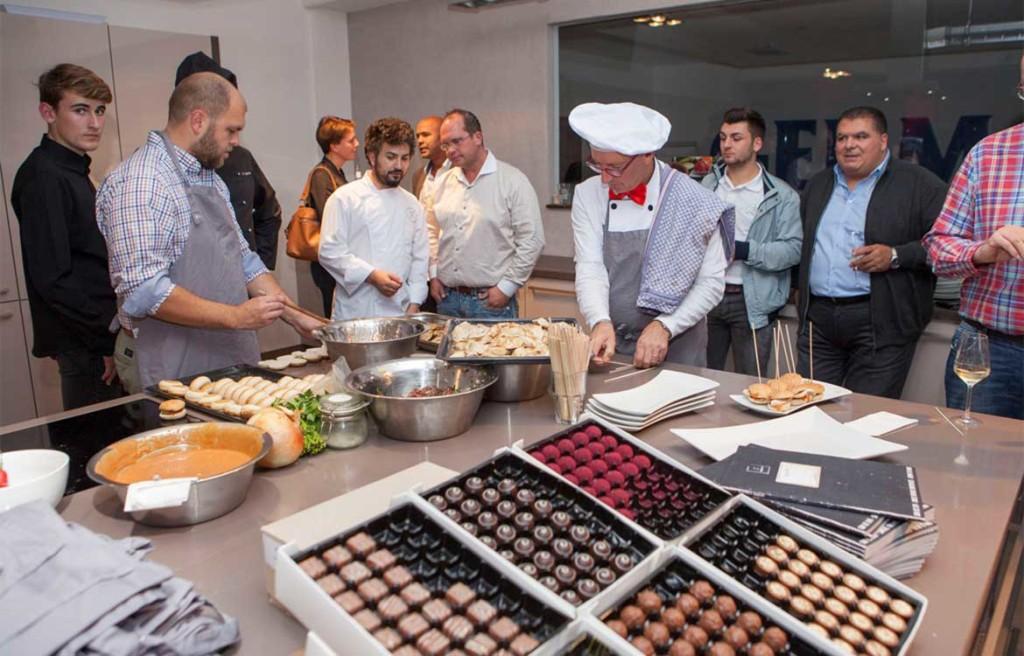 Top-Küchenparty: Pascha Pourians Kochschule Oumami