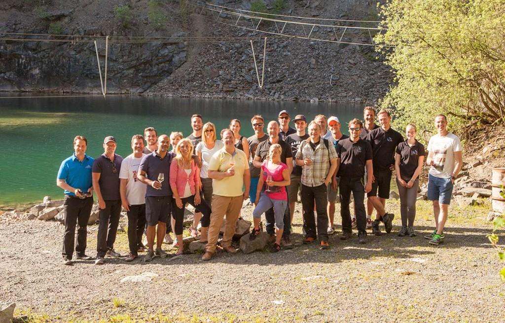 Hoch, höher, Top-Bergsee-Adventure