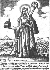 Die Wallfahrt zu Ehren der heiligen Adelheid von Vilich, Äbtissin der örtlichen Benediktinerinnenabtei, gilt als Ursprung des heutigen Pützchens Markt.