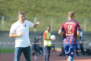 Cheftrainer Daniel Zillken