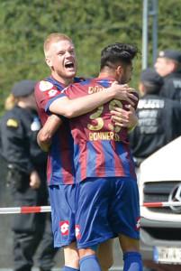 Lars Lokotsch sorgte im DFB-Pokal-Spiel für den ersten Treffer.