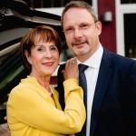 Mögen gutes Essen bei Da Omero: Hildegard und Wolfgang Jardner