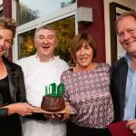 Einen Kuchen zum Geburtstag gab es von Familie Gorny für Da Omero