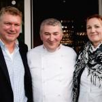 Frischezentrum Essen und Gilde gratulierten Da Omero durch Ehepaar Karmen und Rolf Strobel