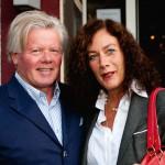 Annette und Julius Bosbach ließen sich die Geburtstagsfeier Da Omero nicht entgehen