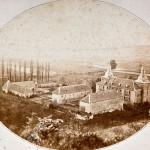 Das älteste heute vorhandene Bild von Schloss Hugenpoet stammt aus den 1860er-Jahren