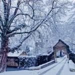 Tief verschneit hat Hugenpoet einen besonders märchenhaften Zauber