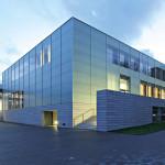 Klaus Wolff: Neubau Museum Folkwang Essen – Ansicht von der Bismarckstraße