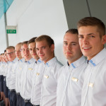 Die Vorfreude der Crewmitglieder der MS EUROPA 2auf die neuen Gäste ist genauso groß wie umgekehrt. Und sie ist echt.