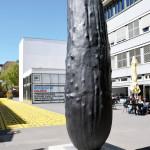 Wilhelm Lehmbruck: Erwin Wurm, Der Gurk, 2016, Bronzeguss, patiniert, © Erwin Wurm / VG Bild-Kunst, Bonn 2017