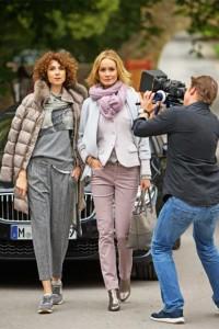 Impressionen vom Modeshooting für Marion Küpper mit TOP Ruhr im Schloss Hugenpoet …