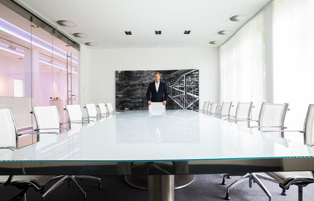 Mit seinen 43 Jahren steht Sven van Gelder an der Spitze eines Unternehmens, das große Bauprojekte stemmt