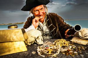 Pure Gold-Gier sollte man den Piraten überlassen. Reichtum erfordert soziale Verantwortung, sagt Wulf Mämpel