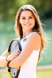 Tennis liegt ihr am Herzen seit ihrer Kindheit in Moskau. Die bildhübsche junge Frau hat ihren Sport zum Beruf gemacht und darüber ihre große Liebe gefunden. Und mit Daniel Kruchen auch den Weg nach Essen.