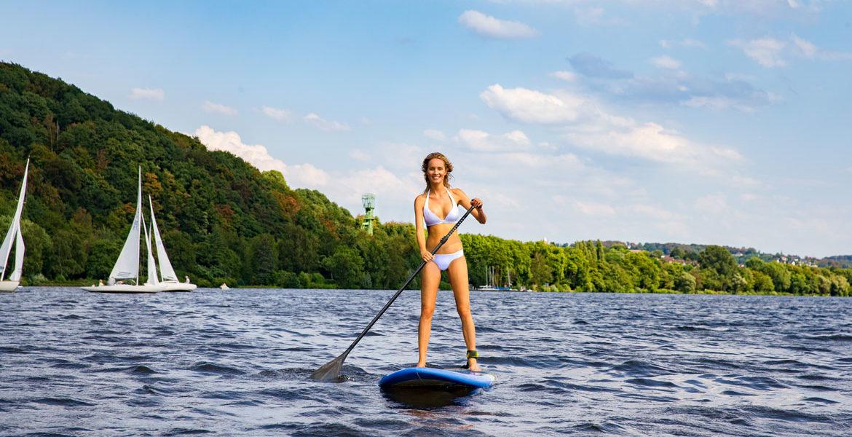 Sommer im Revier – SUP Neuer Super-Trend im Wassersport