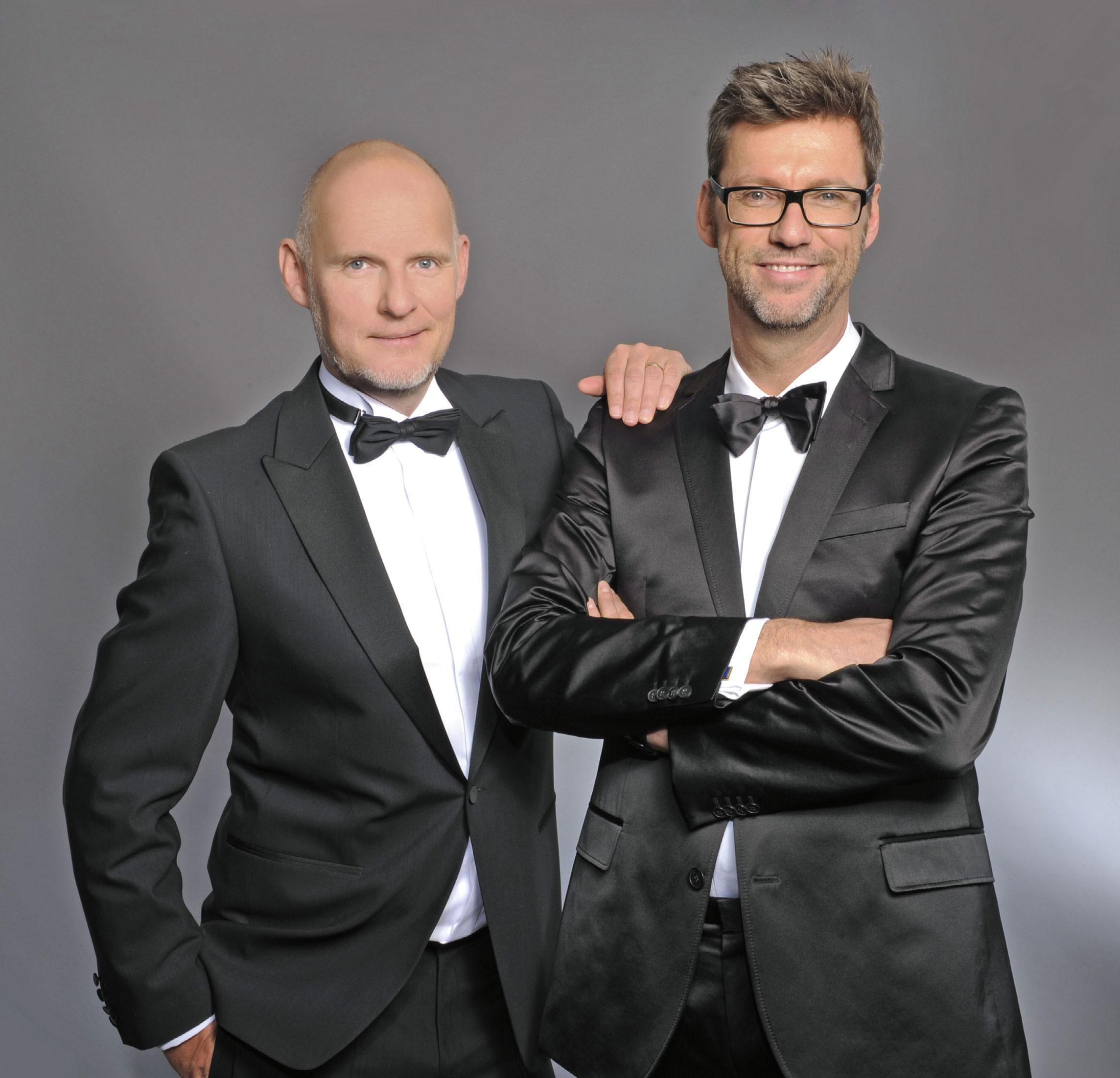 DMC Stuttgart: Die beiden Gründer der diconium GmbH: Daniel Rebhorn und Andreas Schwend (v.li.)