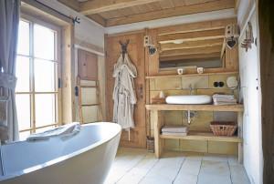 Dörfle Kleinaspach: Das Badezimmer im Dörfle