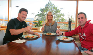 Guten Appetit! Michael Branik, Karin Endress und Boris Mönnich