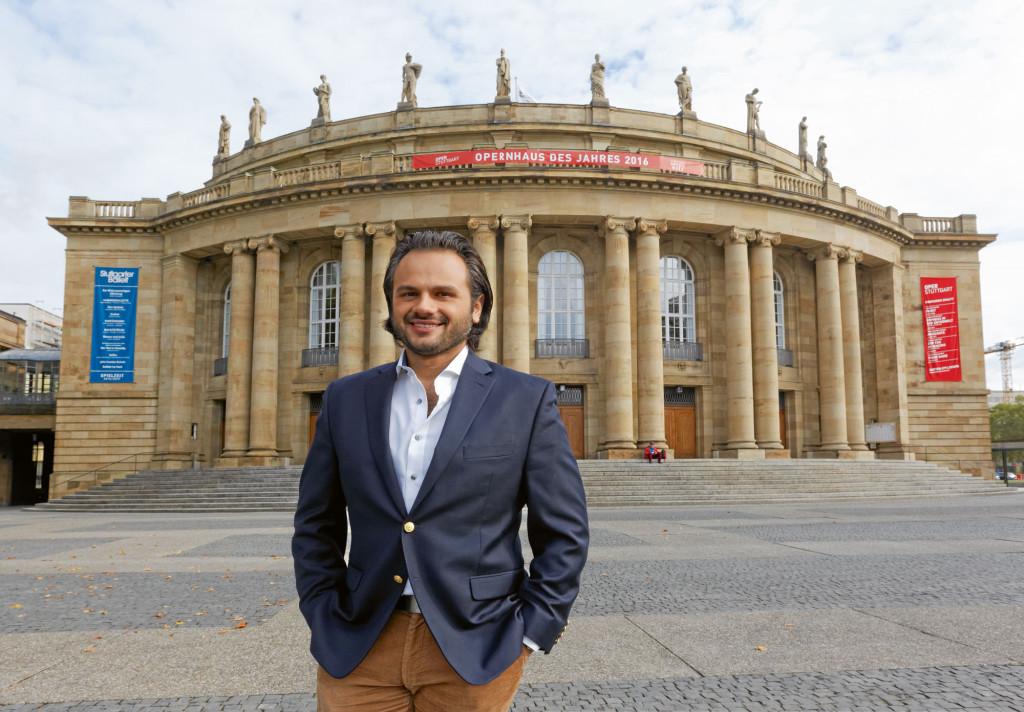 Atalla Ayan vom Stuttgarter Opernensemble im Interview