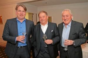 Klaus Vogt, Klaus Sattler und Bernhard Hettich (v.li.)