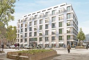 Aus dem Europahaus hinterm Rathaus wird ein designorientiertes Boutique-Hotel.