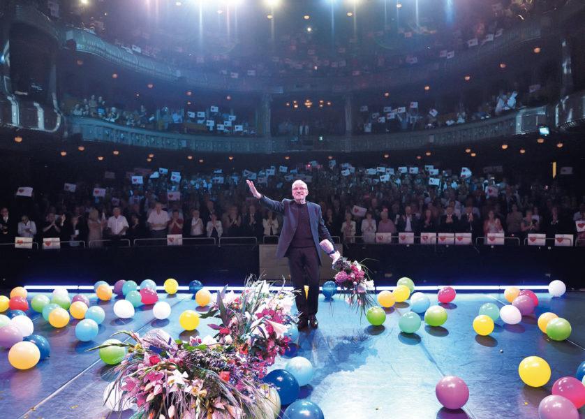 Glanzvolle Gala zum Ende einer beeindruckenden Karriere
