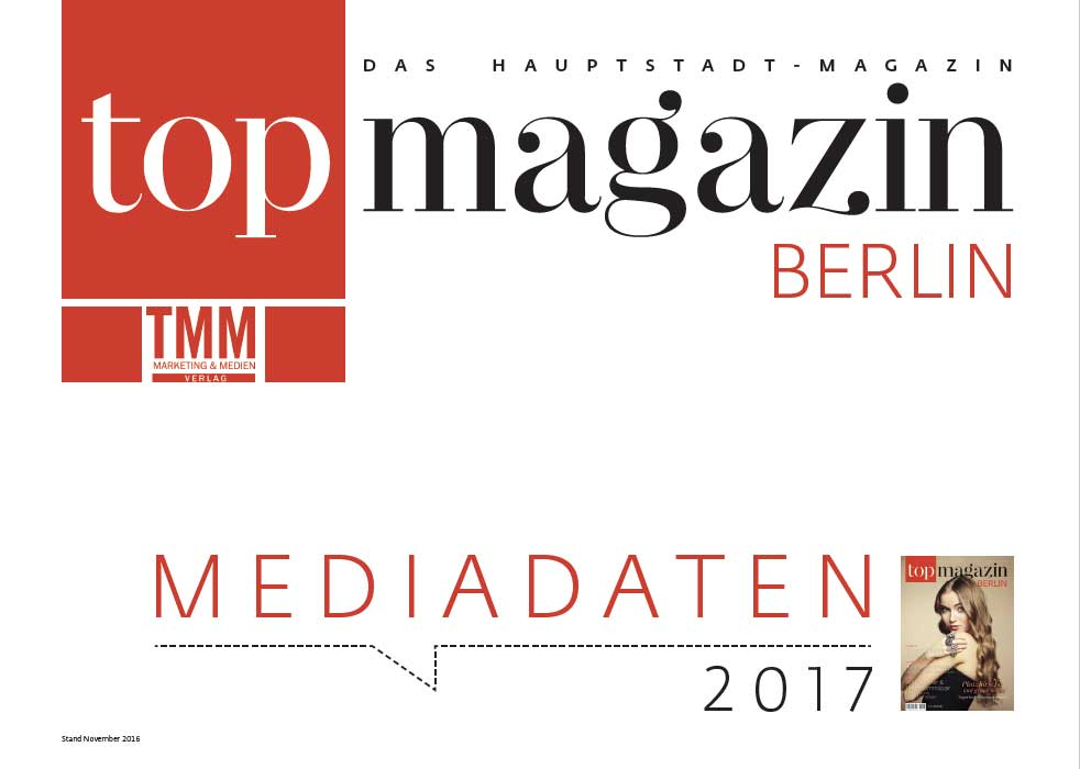 Top Magazin Berlin Mediadaten 2017