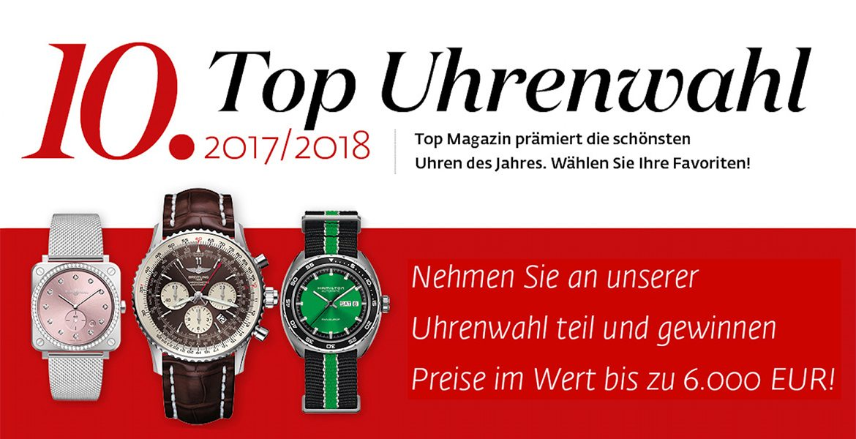 10. Top Uhrenwahl 2017/18