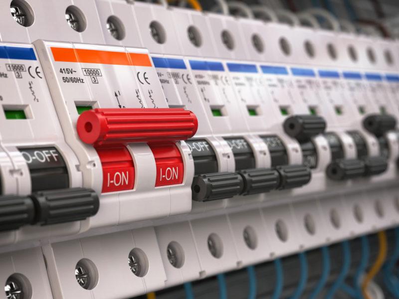 Elektrische Sicherheit zu Hause