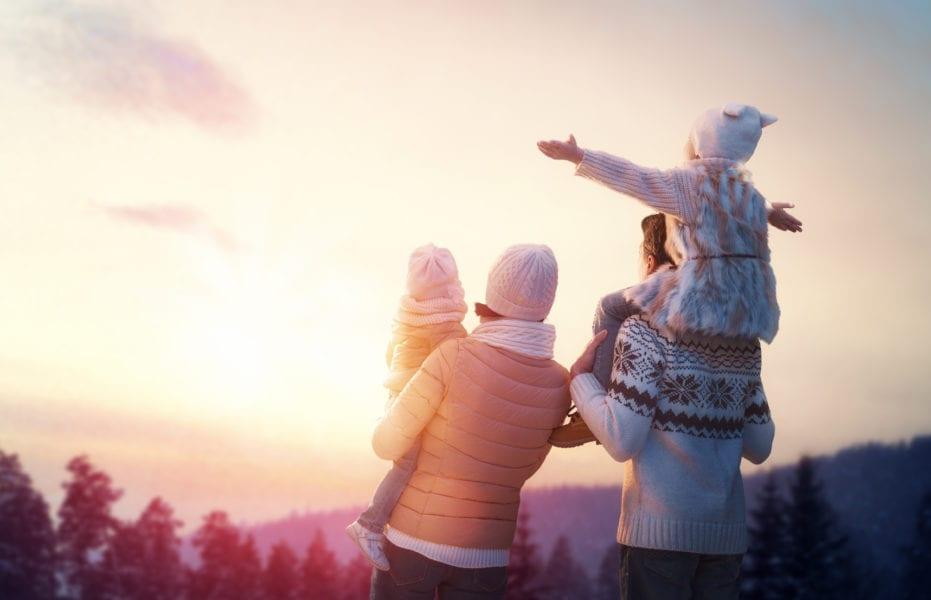 Winterbeschäftigung für die ganze Familie