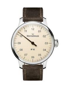 MeisterSinger Uhr, Modell: No.01